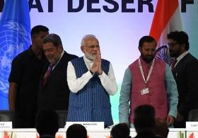 To achieve land degradation neutrality, PM Narendra Modi bats for global water action agenda