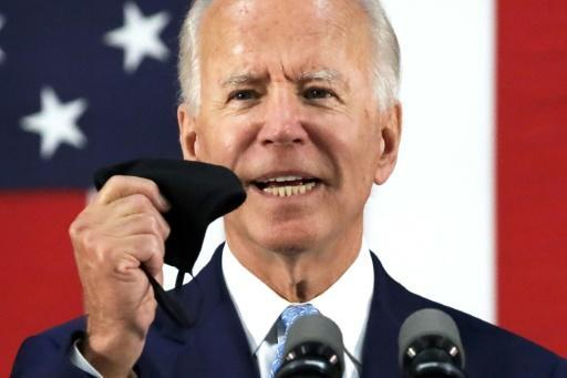 Democratic presidential candidate Joe Biden said he will not be holding campaign rallies because of the pandemic