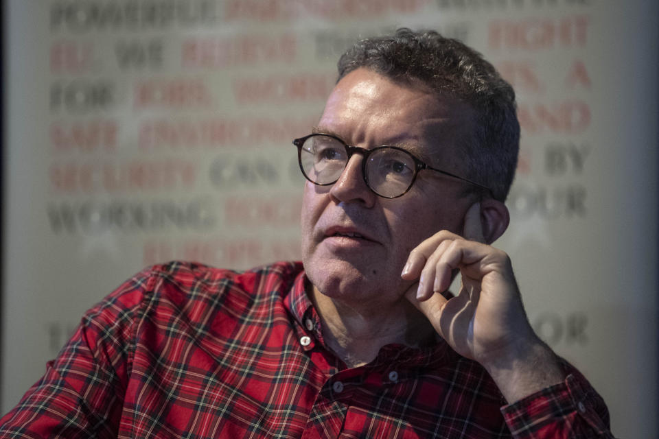 """File photo dated 22/9/2019 of Tom Watson who has said he feels """"very deeply"""" for those caught up in the failed police investigation into an alleged Westminster paedophile ring but insisted he was trying to do """"the right thing""""."""