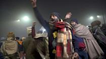 Defiance at India farmer camps as police call for end to protests