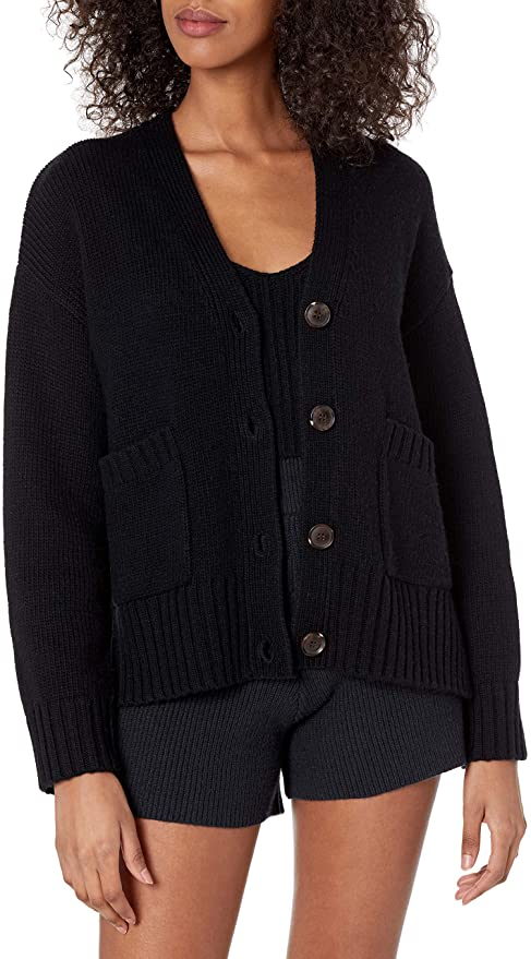 """<br><br><strong>The Drop</strong> Brigitte Chunky Ribbed Cardigan, $, available at <a href=""""https://amzn.to/2PtxUAH"""" rel=""""nofollow noopener"""" target=""""_blank"""" data-ylk=""""slk:Amazon"""" class=""""link rapid-noclick-resp"""">Amazon</a>"""