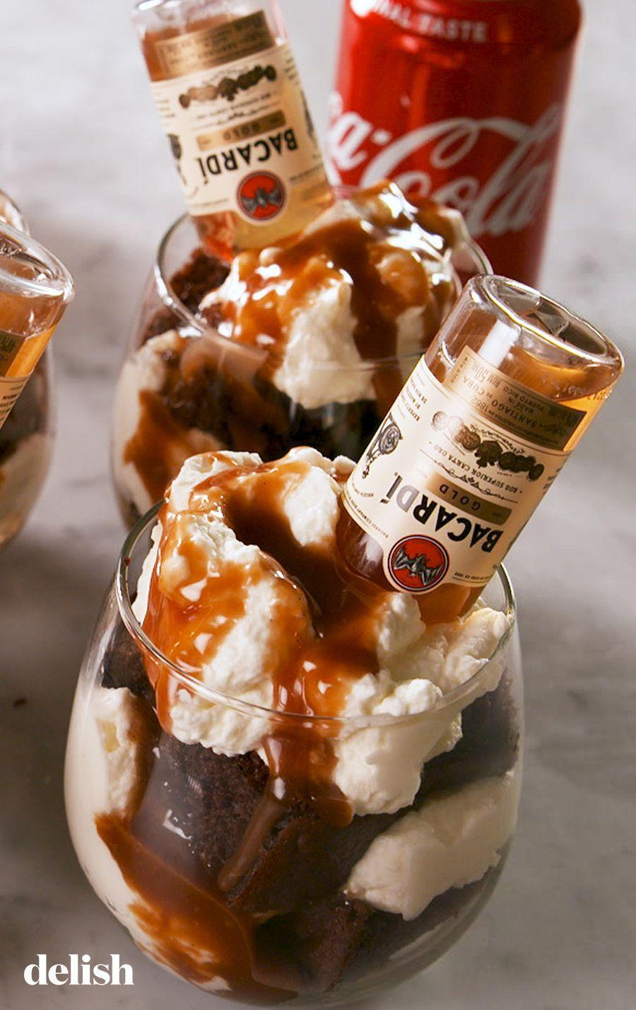 """<p>Adorably small, deliciously boozy.</p><p>Get the recipe from <a href=""""https://www.delish.com/cooking/recipe-ideas/a27472036/rum-and-coke-cakes-recipe/"""" rel=""""nofollow noopener"""" target=""""_blank"""" data-ylk=""""slk:Delish"""" class=""""link rapid-noclick-resp"""">Delish</a>.</p>"""