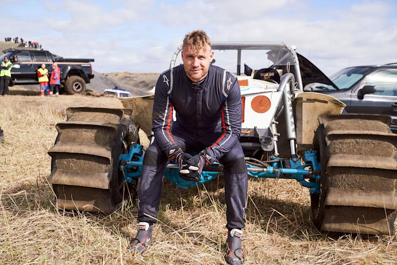 Freddie Flintoff is part of 'Top Gear's new presenting line-up (Credit: BBC)