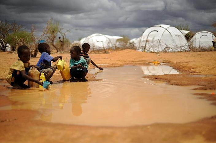 Kenya's High Court has voided a government decision to close the Dadaab refugee camp (AFP Photo/Tony KARUMBA)
