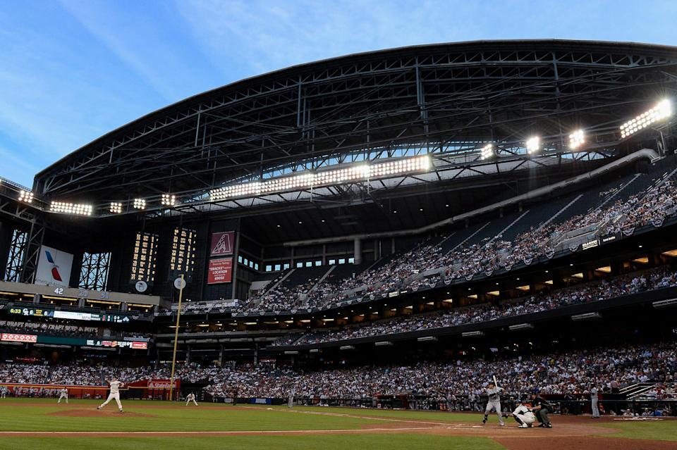 The Arizona Diamondbacks have permission to search for a new stadium as early as 2022. (Getty Images)