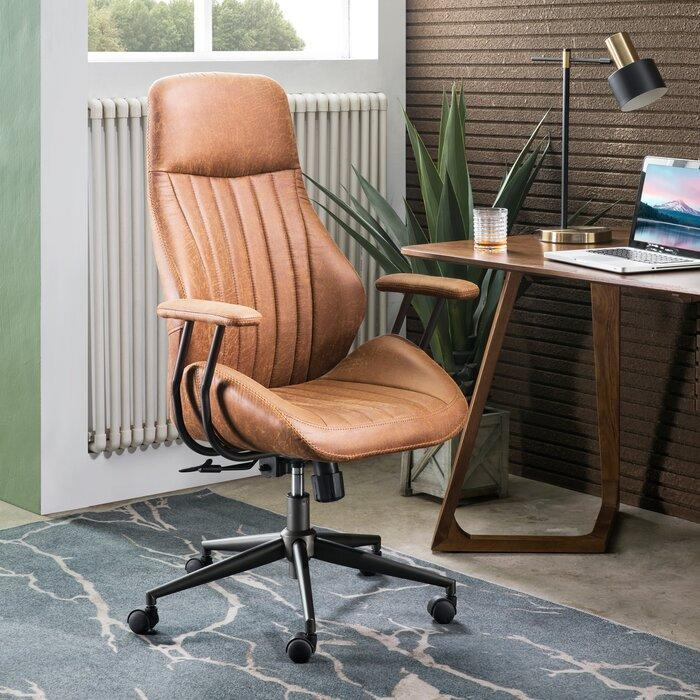Williston Forge Albaugh Executive Chair (Photo via Wayfair)