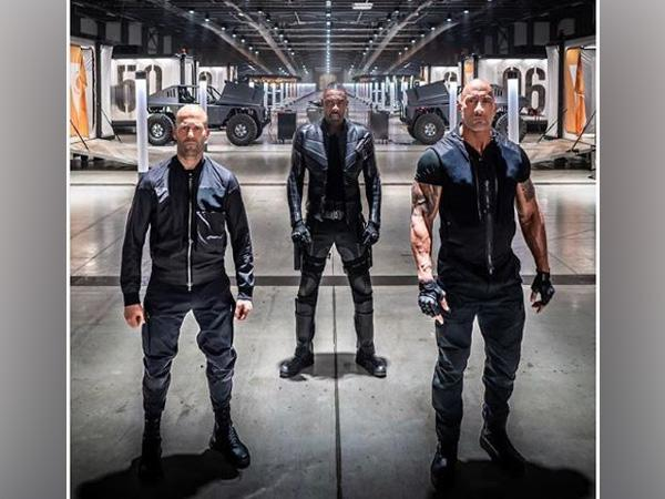 A still from the Fast and Furious series 'Hobbs-Shaw'.
