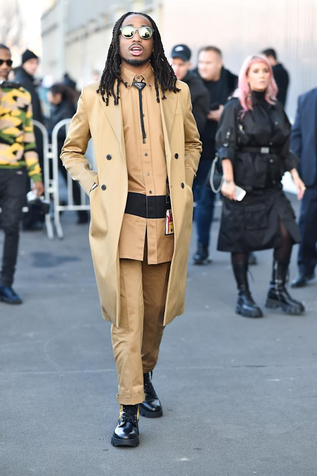<p>WHAT: Prada</p> <p>WHERE: The Prada Fall-Winter 2020 show in Milan</p> <p>WHEN: January 12, 2020</p> <p>WHY: A great reason to try a bolo tie in 2020.</p>