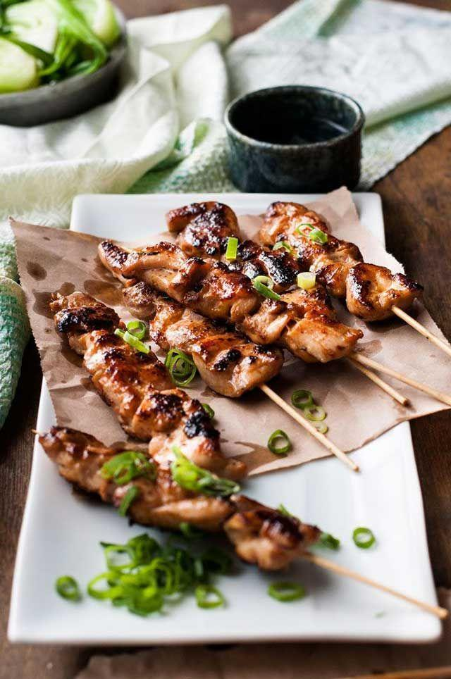 """<p><span>If you struggle with chopsticks, don't worry—the skewers gotchu.</span></p><p><span>Get the recipe from </span><a href=""""http://www.jocooks.com/healthy-eating/chinese-chicken-skewers-guest-post-from-recipetin-eats/"""" rel=""""nofollow noopener"""" target=""""_blank"""" data-ylk=""""slk:Jo Cooks"""" class=""""link rapid-noclick-resp"""">Jo Cooks</a><span>.</span><br></p>"""
