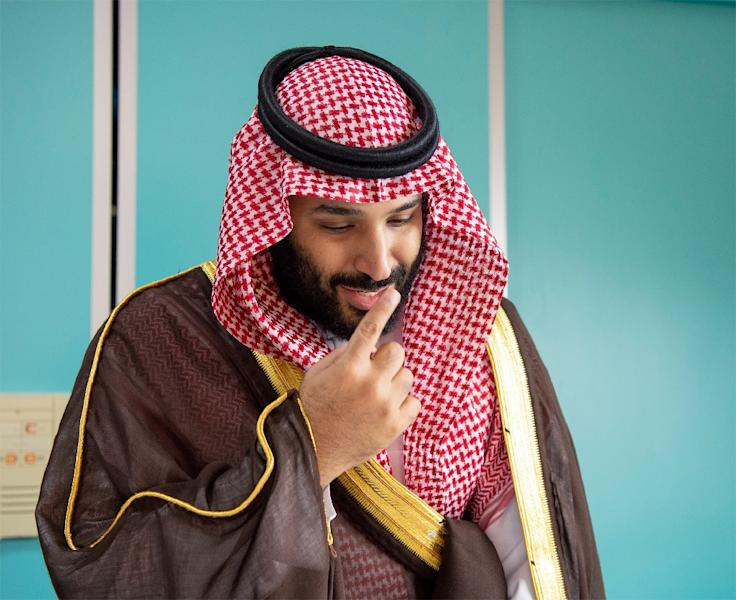 Turkey has avoided directly pointing the finger at Saudi Arabia's Crown Prince Mohammed bin Salman over the Khashoggi killing (AFP Photo/STRINGER)
