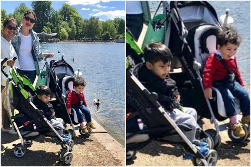 Kareena Kapoor's Pic with Taimur on Stroller is Perfect Definition of Mommy's Day Out