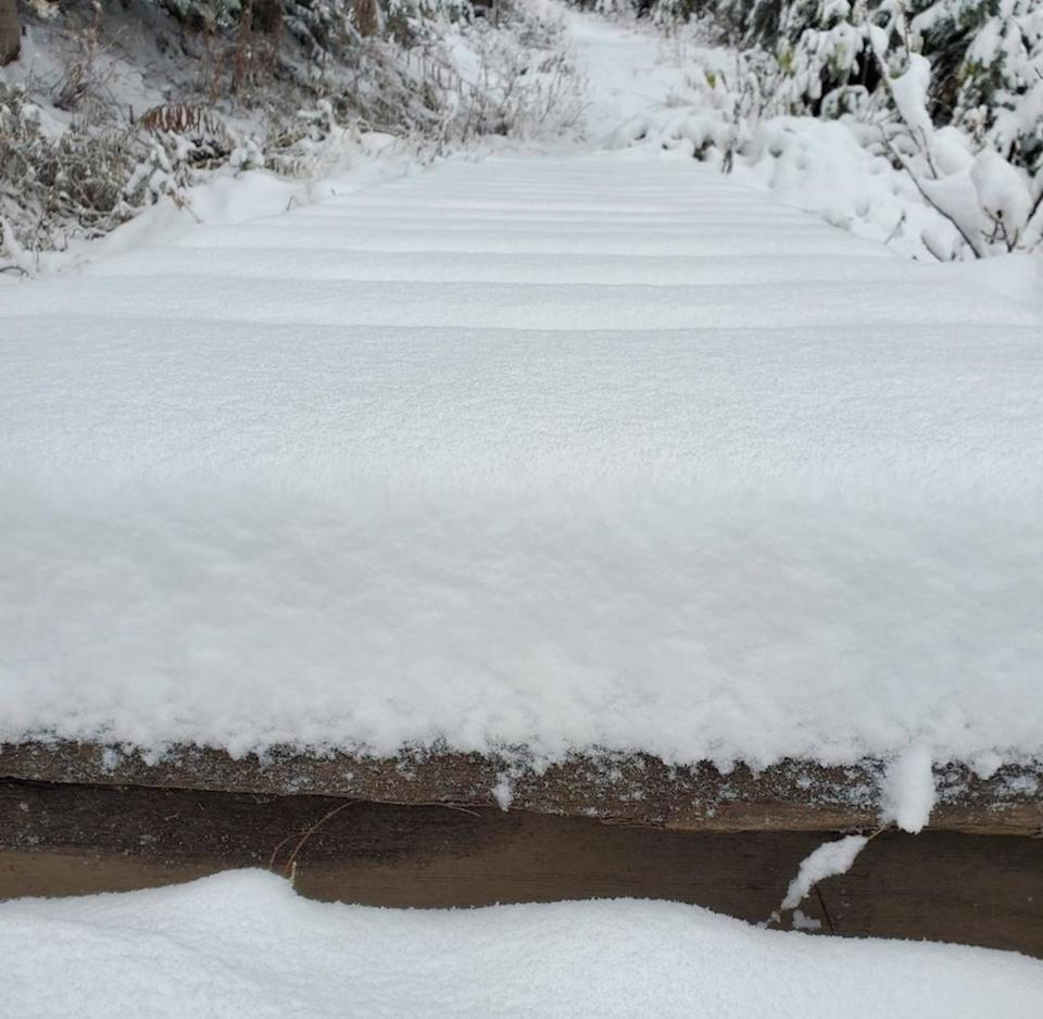 PHOTOS: Wintry weather pays Western Canada a surprise Thanksgiving visit