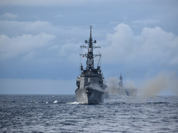5th edition of the Japan-India Maritime Exercise (JIMEX) in the Arabian Sea.