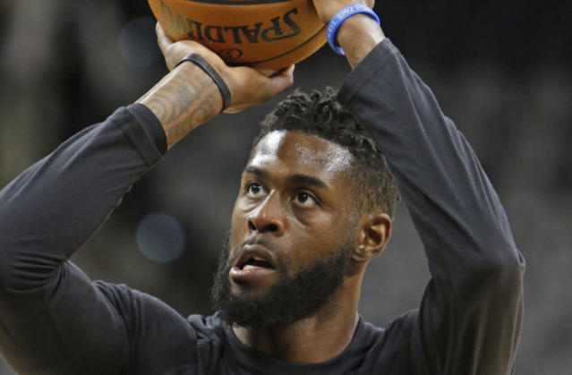 "Clippers center <a class=""link rapid-noclick-resp"" href=""/nba/players/5146/"" data-ylk=""slk:Willie Reed"">Willie Reed</a>'s former adviser was arrested as part of the FBI's NCAA bribery investigation. (AP)"