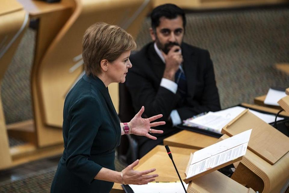 The First Minister apologised to those who had endured long waits for ambulances (Andy Buchanan/PA) (PA Wire)