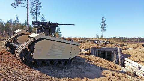Milrem Robotics and ST Engineering demonstrated a BVLOS combat UGV at a live fire exercise