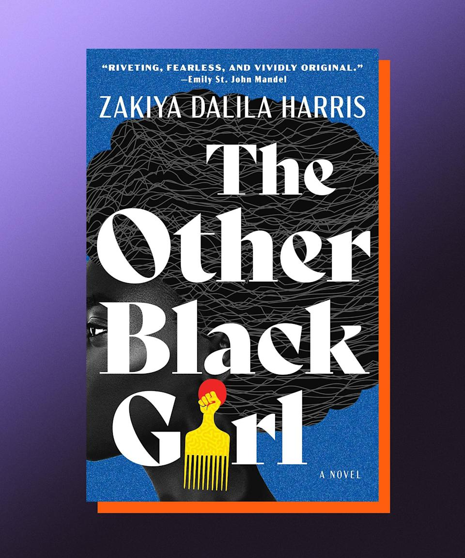 """<strong><em>The Other Black Girl</em>, Zakiya Dalila Harris </strong><a href=""""https://bookshop.org/books/the-other-black-girl/9781982160135"""" rel=""""nofollow noopener"""" target=""""_blank"""" data-ylk=""""slk:(available here"""" class=""""link rapid-noclick-resp""""><strong>(available here</strong></a><strong>)</strong><br><br>Nothing feels more appealing to me right now than a drama-infused, office-set novel; I can't help it, I miss the petty pleasures and grievances of working in close quarters with people! Zakiya Dalila Harris's debut novel satisfies my desire to be back in that space, and then some. Set in the overwhelmingly white world of book publishing, <em>The Other Black Girl</em> centers around 26-year-old publishing assistant Nella Rogers, who seems to get exactly what she wants when her company finally hires Hazel, another Black employee. But, Hazel quickly goes from being Nella's fast friend to her fiercest competition, and soon enough Nella feels like she's not only being pushed out of her job, but also that she's losing her sense of self. Harris is excellent at capturing the way a job can become a person's whole identity, and takes readers on a bracing, whip-smart, piercingly funny trip into a supposedly enlightened industry — and world — where racism, classism, and sexism all conspire to destabilize anyone who isn't willing to play the game."""