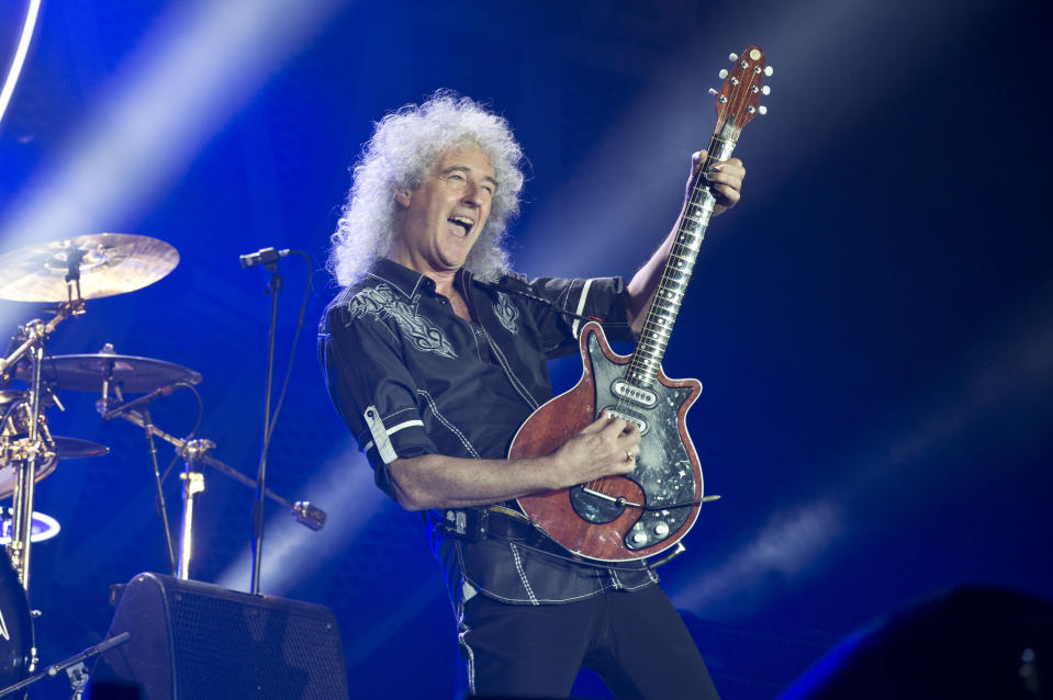 The guitarist believes people will evaluate their meat intake after the pandemic. (Getty Images)