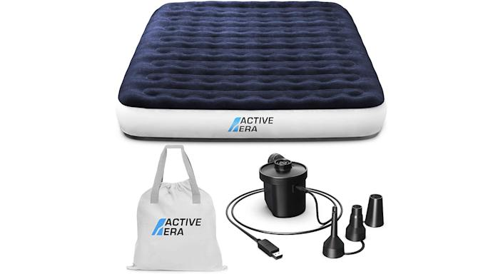 Luxury Airbed - Active Era Camping Air Bed with USB Rechargeable Pump
