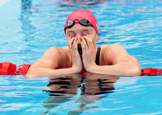 Abbie Wood missed out on a medal in the women's 200m individual medley by just 0.11 seconds (Joe Giddens/PA)