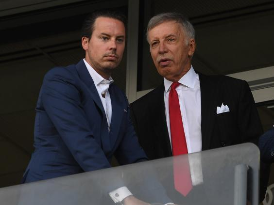 The Kroenkes insist they are committed to the football club (Getty)