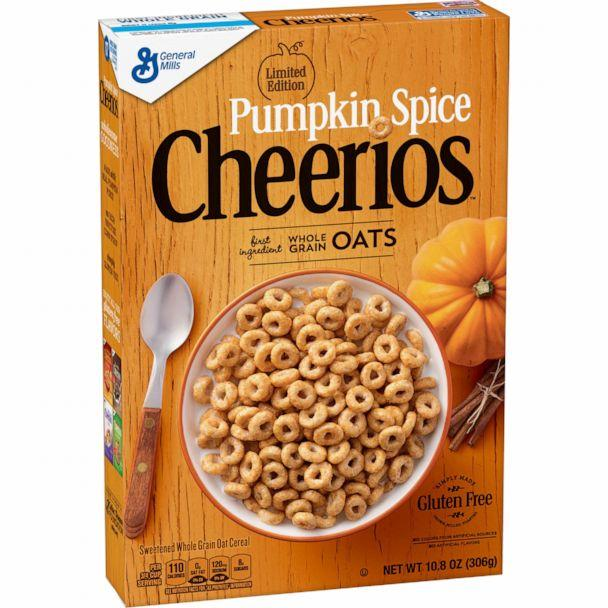 PHOTO: Pumpkin Spice Cheerios are back by popular demand this fall. (General Mills)