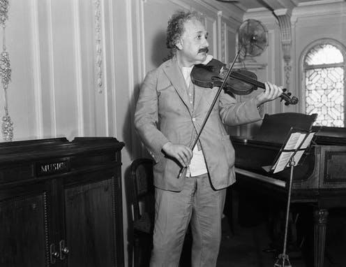"""<span class=""""caption"""">Einstein thought imagination was crucial.</span> <span class=""""attribution""""><a class=""""link rapid-noclick-resp"""" href=""""https://www.flickr.com/photos/43531522@N00/17083401791"""" rel=""""nofollow noopener"""" target=""""_blank"""" data-ylk=""""slk:Robert and Talbot Trudeau/Flickr"""">Robert and Talbot Trudeau/Flickr</a>, <a class=""""link rapid-noclick-resp"""" href=""""http://creativecommons.org/licenses/by-nc/4.0/"""" rel=""""nofollow noopener"""" target=""""_blank"""" data-ylk=""""slk:CC BY-NC"""">CC BY-NC</a></span>"""