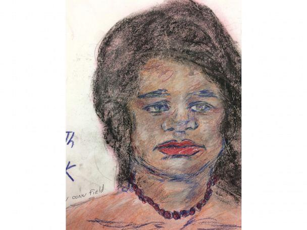 PHOTO: A sketch drawn by convicted serial killer Samuel Little of one of his victims. Little described the woman as 24-years-old and a black female. Killed in North Little Rock, Arkansas, 1992–1994. (FBI)