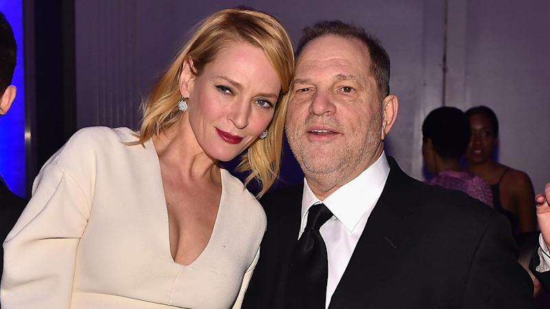 Uma Thurman Breaks Silence on Harvey Weinstein's Sexual Misconduct, Says 'Me Too'