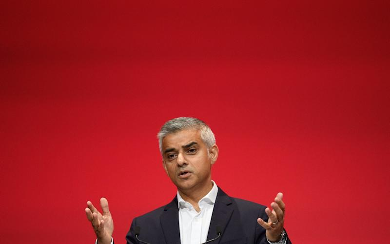 Mayor of London Sadiq Khan - Credit: Leon Neal/Getty Images