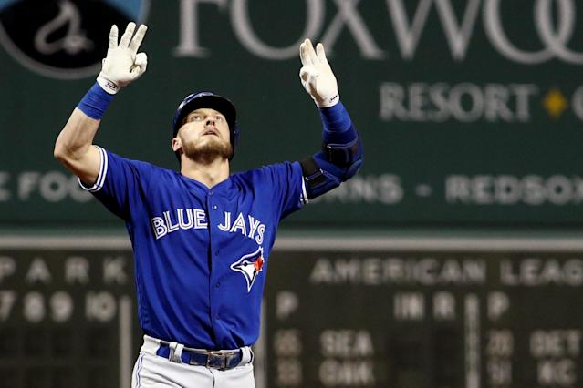Josh Donaldson remains in Toronto, but for how long? (Photo by Maddie Meyer/Getty Images)