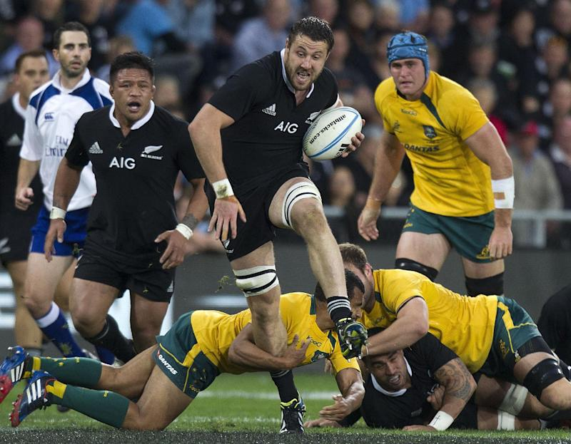 Rugby union - All Blacks zero in on record against Wallabies