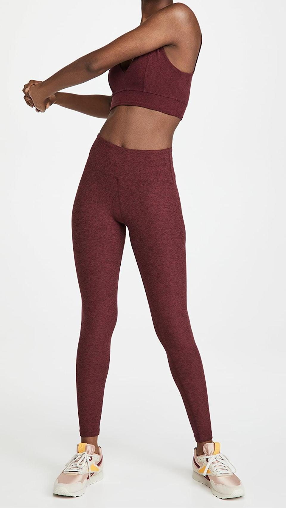 <p>If you need us, we'll be in these <span>Year of Ours YOS Yoga Leggings</span> ($70, originally $88).</p>