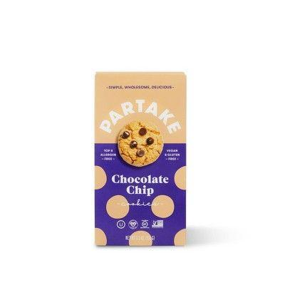 "<p><strong>Partake</strong></p><p>target.com</p><p><strong>$4.99</strong></p><p><a href=""https://www.target.com/p/partake-chocolate-chip-cookies-5-5oz/-/A-79473870"" rel=""nofollow noopener"" target=""_blank"" data-ylk=""slk:BUY NOW"" class=""link rapid-noclick-resp"">BUY NOW</a></p><p>If he has a lot of dietary restrictions but loves dessert, get him these crunchy chocolate chip cookies. They're vegan, nut and gluten free. </p>"