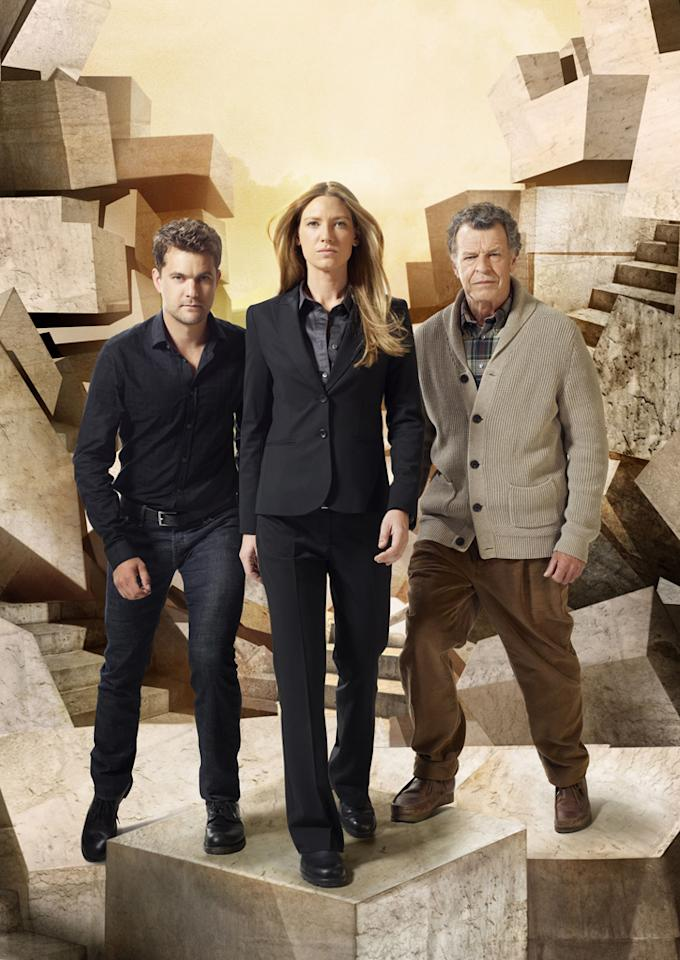 "<b>""Fringe""</b> (Fox)<br>Fridays at 9 PM<br><b><br>The Good News:</b> Fox has always loved this show, having rescued it from the bubble twice already. Since the network has already canceled ""Terra Nova"" and ""House,"" it may want to hang on to this cult favorite for a final (probably shortened) season.<br><br><b>The Bad News:</b> Fox has a couple of buzzy new drama pilots, including a serial killer story from Kevin Williamson starring Kevin Bacon, so the network may decide to clear the bench. Fox Entertainment President Kevin Reilly put it pretty plainly in January that the network's generous pocketbook might be closing when it comes to the costly ""Fringe"": ""We're not in the business of losing money,"" he said."
