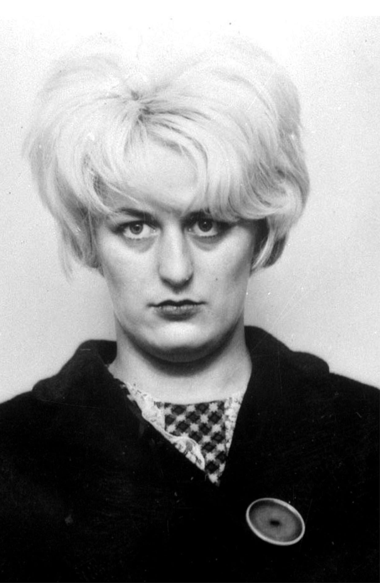 This is a 1966 file photo of Britain's longest serving female prisoner of Myra Hindley.  Hindley and Ian Brady were jailed for life in 1966 for three murders. In 1987 they confessed to two more child killings. (AP  Photo/Press Association)
