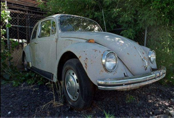 PHOTO: The 1968 Volkswagon Bug that belonged to serial killer Ted Bundy sits in the corner of a rental lot waiting for a buyer, July 15, 1997, in Salt Lake City. (Steve C. Wilson/AP, FILE)