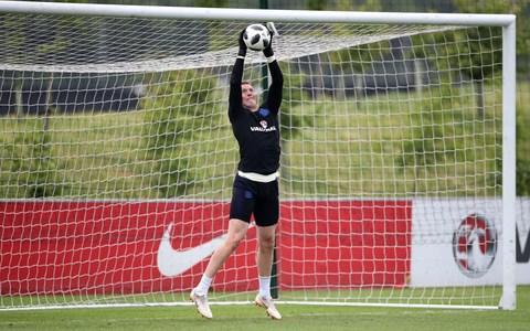 "Just 1.2 seconds. That is the difference, Jordan Pickford reveals, that shows how England take their penalties quicker, that they hurry them in fact, than other nations during shoot-outs; shoot-outs that they have lost six times in their last seven attempts in European Championships and World Cups. This week England have been practising at St George's Park, as part of their World Cup preparations, with part of that practice being to replicate the solitary walk from the half-way line to the penalty spot and, crucially, to slow it down after detailed analysis from the Football Association showed that no other country takes their penalties quicker. ""It's 1.2 seconds or something,"" Pickford says of the slender but crucial time difference adding that it was also part of the preparations for last summer's Under-21s European Championships when, yes, England lost again on penalties. ""I'd say we're doing a lot of work on that at the moment,"" the 24-year-old says. ""Behind the scenes we're doing a lot of work to get preparation for how we'd want to go about it. But it's pot luck sometimes, isn't it?"" It may be pot luck but Gareth Southgate is not leaving anything to chance - not least because the FA report details practising as much as possible, and players taking their time as they approach the spot, as key factors for winning a shoot-out. Pickford would be happy to step up and take a penalty for England in a World Cup shootout Credit: PA Southgate is also aware of the need not to make shoot-outs an obsession and in Pickford he has a confident character, a goalkeeper who is able to ""mentally block out mistakes"" and who is not only hoping to stop spot-kicks – if it comes to that – but take one also. ""If I need to step up, I'll take one,"" Pickford says. ""I've got no issue with that. I've never taken one in a shoot-out but I'm always practising in training. I remember the Under-17s World Cup, I was down as third to take one. But the manager John Peacock changed it so I dropped to seventh. And the lad who took the third penalty smashed it over the bar!"" With Pickford vying with Jack Butland and Nick Pope to be England's number one in Russia that confidence with the ball at his feet is expected to be a crucial factor in the Everton goalkeeper being selected. ""I think I've always been good at it,"" Pickford says. ""I always practised, even when I was younger. Just passing balls with my mates. It's coming into the game a lot now, playing out from the back."" World Cup 2018 