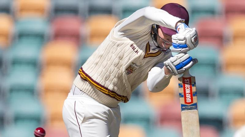 CRICKET SHEFFIELD SHIELD TAS QLD