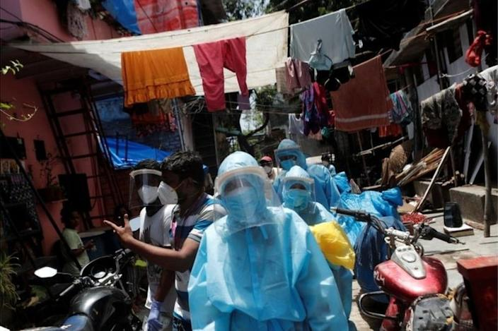 Dharavi is one of the world's most congested slums