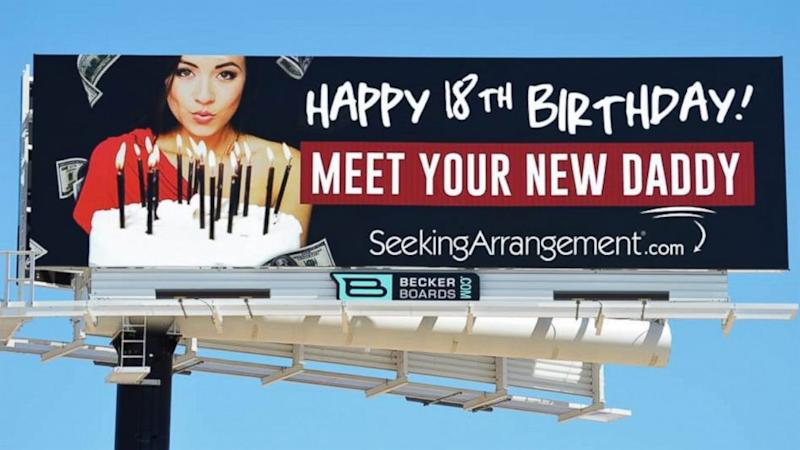 'Sugar Daddy' Company Uses Billboards to Attract New 'Babies'