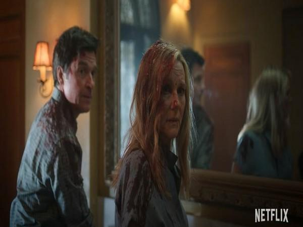 A still of Jason Bateman and Laura Linney from the first footage. (Image source: You Tube)