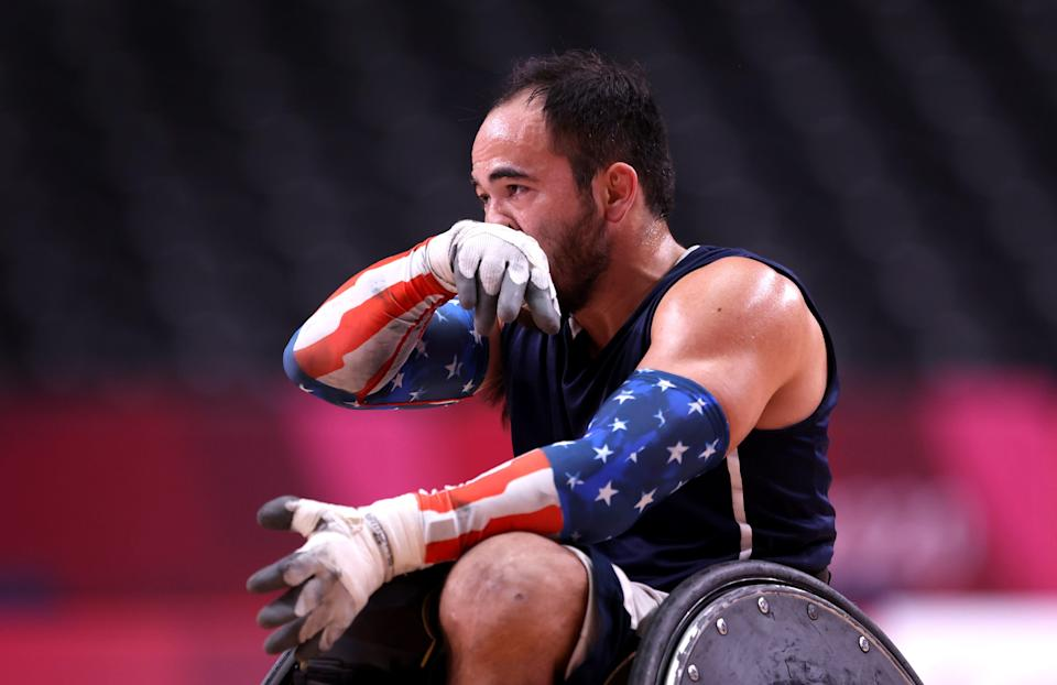 Team USA's Chuck Aoki is a two-time Paralympian, winning silver in wheelchair rugby at the Rio Games in 2016 and a bronze at the London Games in 2012.