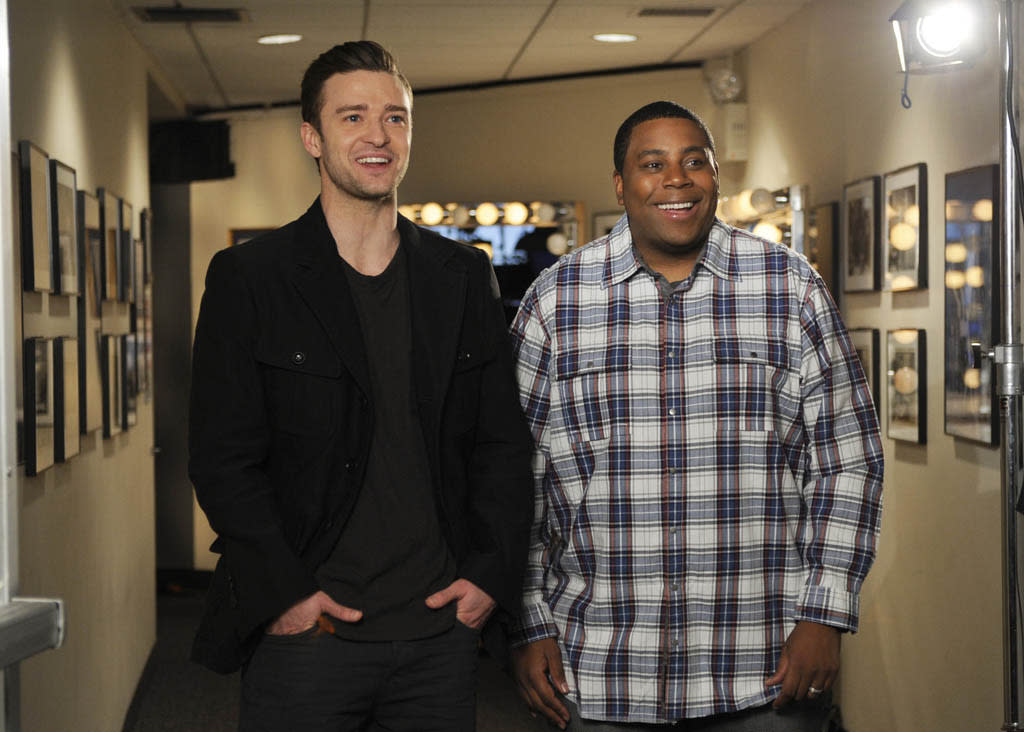 "Justin Timberlake hosts the sixteenth episode of ""Saturday Night Live"" Season 38."
