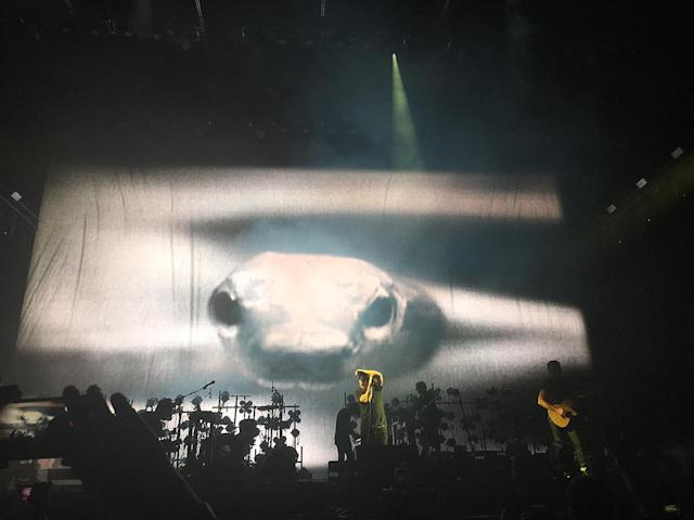 <p>Nine Inch Nails performs onstage at The Pavilion during the 2017 Panorama Music Festival at Randall's Island on July 30, 2017 in New York City. (Photo by Priscilla De Castro) </p>