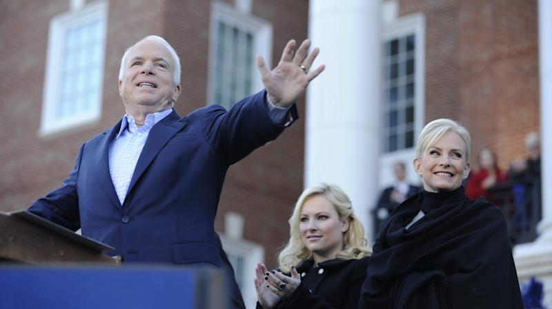 Cindy And Meghan McCain Mourn John McCain With Heartbreaking Tribute