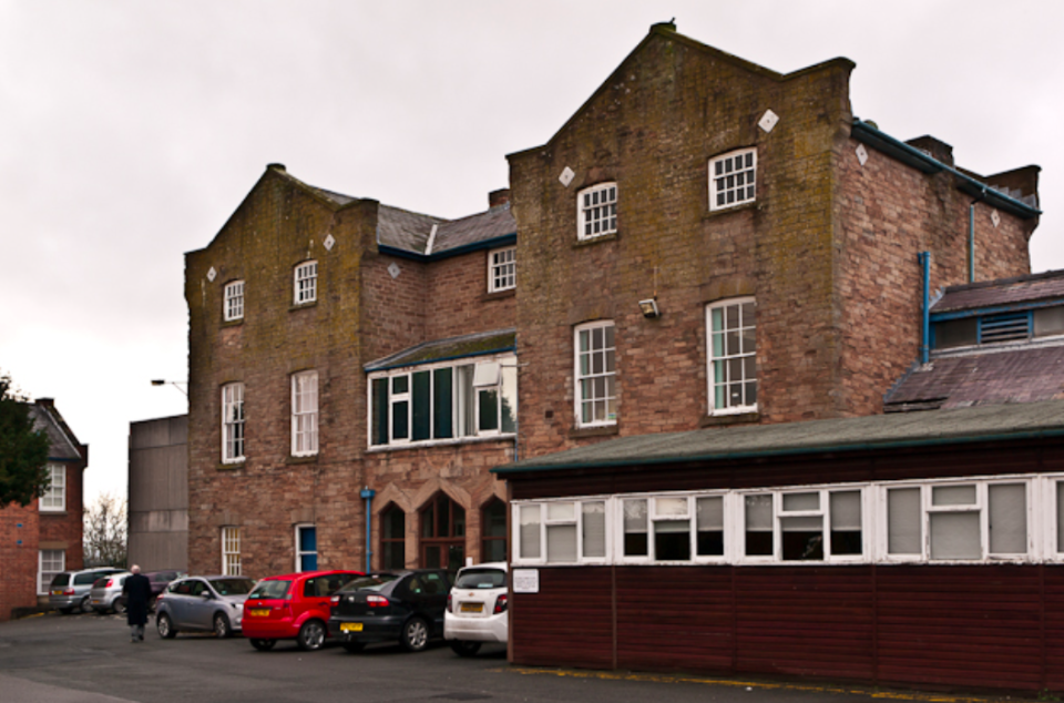 <em>The funds were earmarked for ECG equipment at Ludlow Hospital (Geograph)</em>