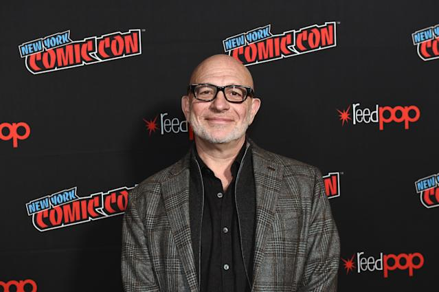 NEW YORK, NEW YORK - OCTOBER 05: Akiva Goldsman poses for a photo during New York Comic Con 2019 Day 3 at the Hulu Theater at Madison Square Garden on October 05, 2019 in New York City. (Photo by Ilya S. Savenok/Getty Images for ReedPOP )