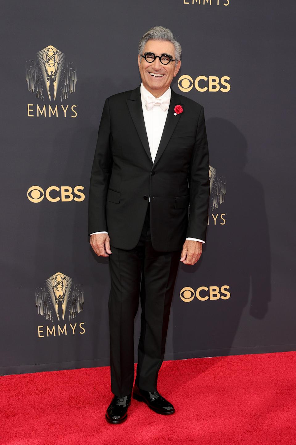 """<h1 class=""""title"""">Eugene Levy in Valentino</h1><cite class=""""credit"""">Photo: Getty Images</cite>"""