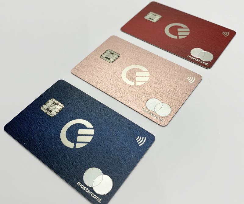 Curve's all-in-one cards. Photo: Curve
